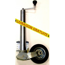 Roue jockey relevable automatique