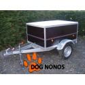 Remorque occasion transport chien 3 boxes