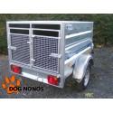 Remorque transport chien 2 BOXES LIDER