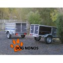 Remorque transport chien 2 BOXES LIDER