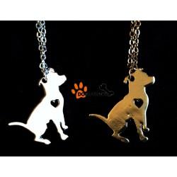 Pendentif American pit bull terrier