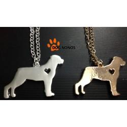 Pendentif chien Rottweiler