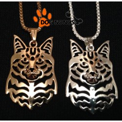 Pendentif 3D Chat Maine Coon