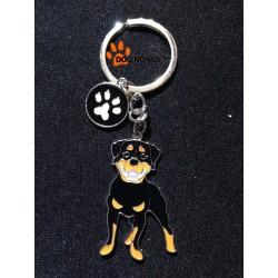 Porte clef Chien Rottweiler