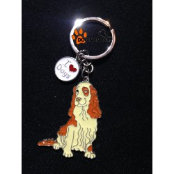 Porte clef chien cocker anglais spaniel for Porte and anglais