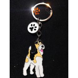 Porte clef Chien Fox Terrier