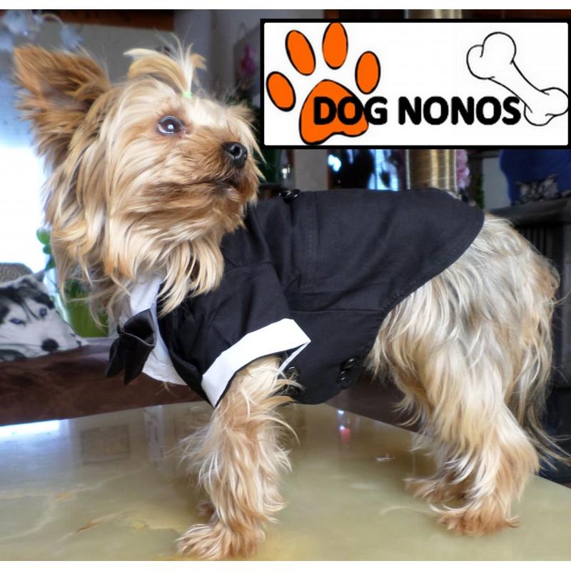 Costume petit chien noir