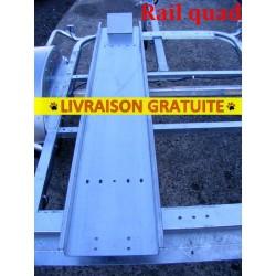 Rail quad avec boucle avant