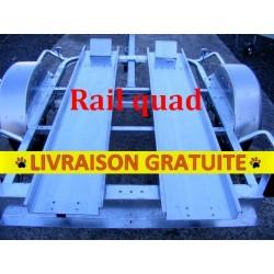 Rail quad avec boucle avant la paire