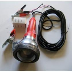 Baladeuse 24 Volt à pinces avec interrupteur, ampoules