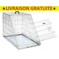 Cage métallique avec côté EN BIAIS