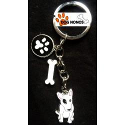 Porte clef bull terrier