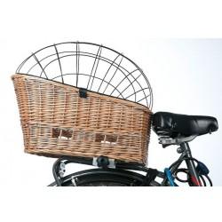 Panier en osier pour vélo