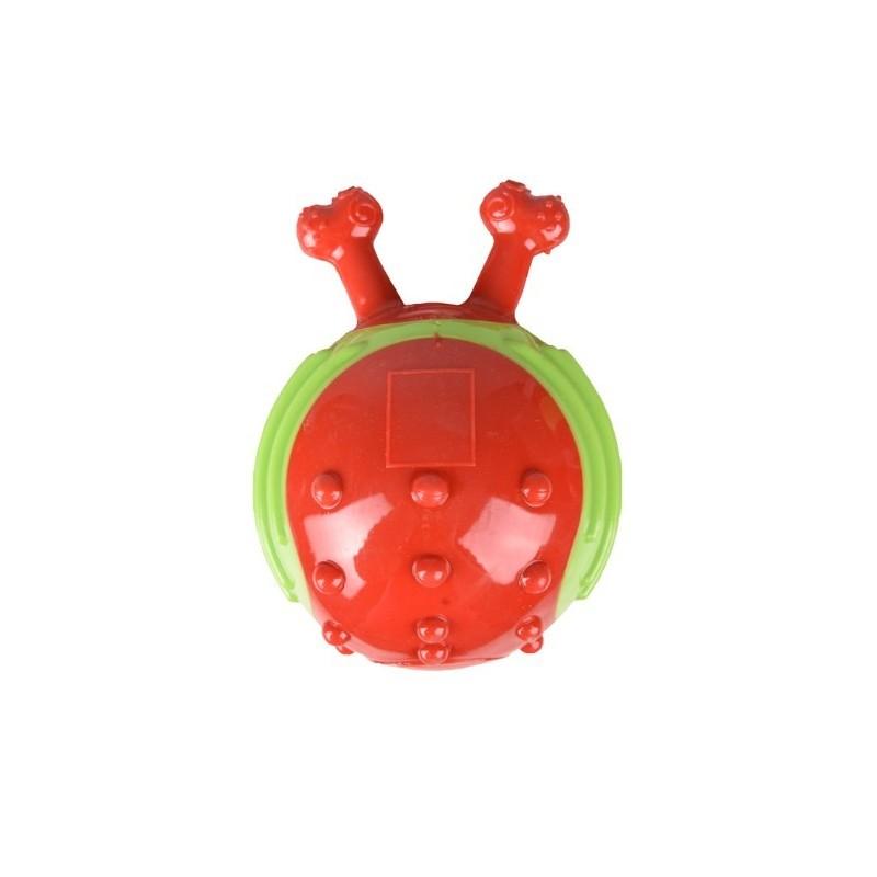 Balle escargot rouge/vert FLAMINGO