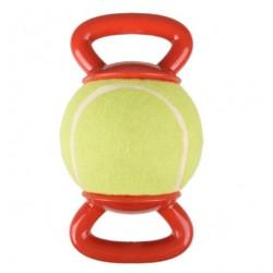 Balle de tennis avec 2 poignées rouge FLAMINGO