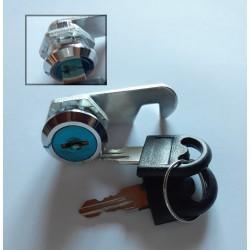 Fermeture à clef basculante