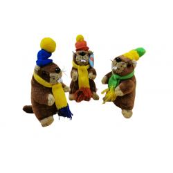 Lot de 3 Marmottes RODADOU...