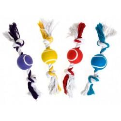 Corde noeuds avec balle