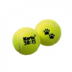 Lot de 3 balles de tennis chien